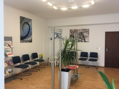 Wartezimmer Frauenarzt, Praxis Freising, Bildergalerie frauenärztliche Praxis